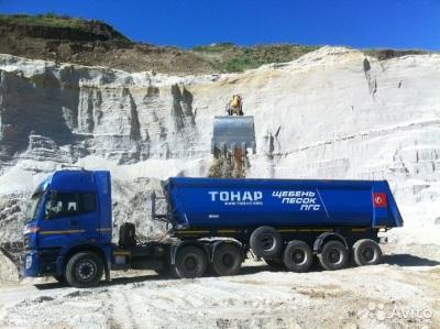 Тонар — лучший способ доставки щебня или песка