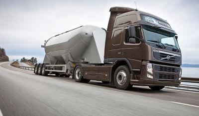 Цементовоз — это быстрая доставка значительных объемов сыпучих грузов